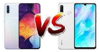 Samsung A50 VS Huawei P30 Lite - Mobilenmore