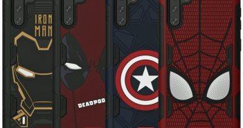 أغطية ذكية بتصميم Marvel لجهاز جلاكسي نوت 10 و نوت 10 بلس 1