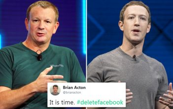 برايان أكتون مؤسس واتساب مُصرّ على وجوب حذف فيسبوك 1