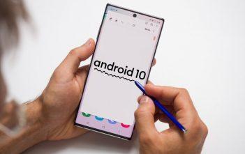 سامسونج تصدر أندرويد 10 لجهاز Galaxy Note 10 1