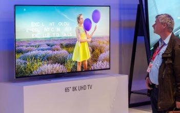 نصف مليون لوحة تليفزيون بدقة 8K سيتم شحنها في 2020