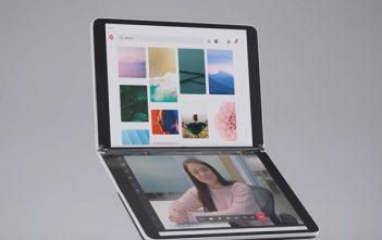 تقدم Microsoft طلب براءة اختراع لآلية طي Surface Neo و Duo