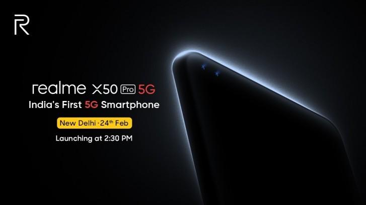 إطلاق ريلمي X50 Pro 5G في 24 فبراير القادم 1