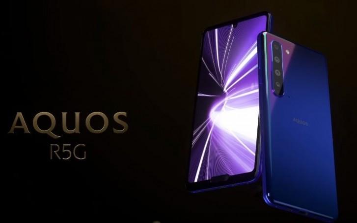 تعلن شارب عن هاتفها الذكي الذي يدعم Aquos R5G 2