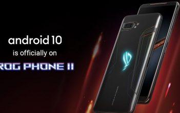 تقول ASUS أن Android 10 يتم طرحه الان على هاتف ROG Phone II