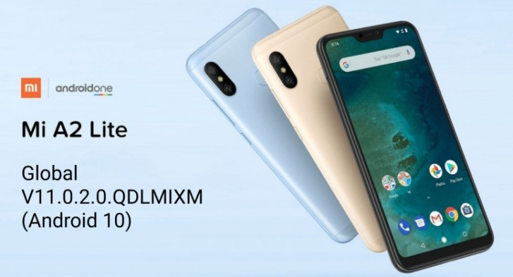 هاتف Xiaomi Mi A2 Lite يبدء في تلقي اندرويد 10 1