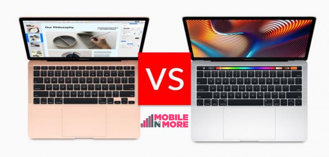 مقارنه بين MacBook مقابل MacBook Pro مقابل MacBook Air
