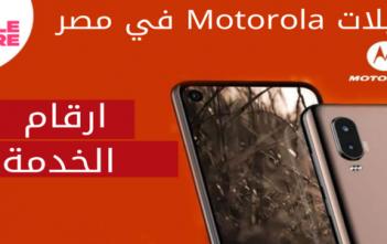 توكيلات موتورولا وارقام الخدمة في مصر