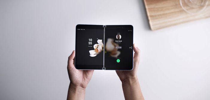اعلنت مايكروسوفت عن هاتفها القابل للطي urface Duo
