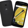 Motorola Moto E Dual SIM