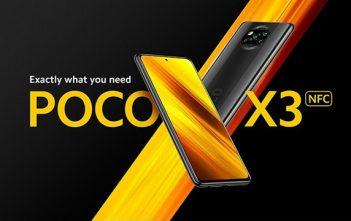 تم الاعلان رسميا عن سعر ومواصفات Poco X3 NFC