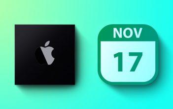 تقدم Apple أول أجهزة Mac التي تعمل بنظام ARM في 17 نوفمبر