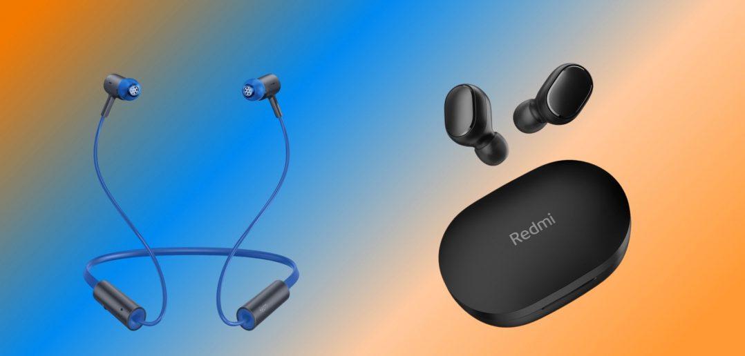 تم الإعلان عن سماعات Redmi EarBuds 2C و Redmi Sonic Bass