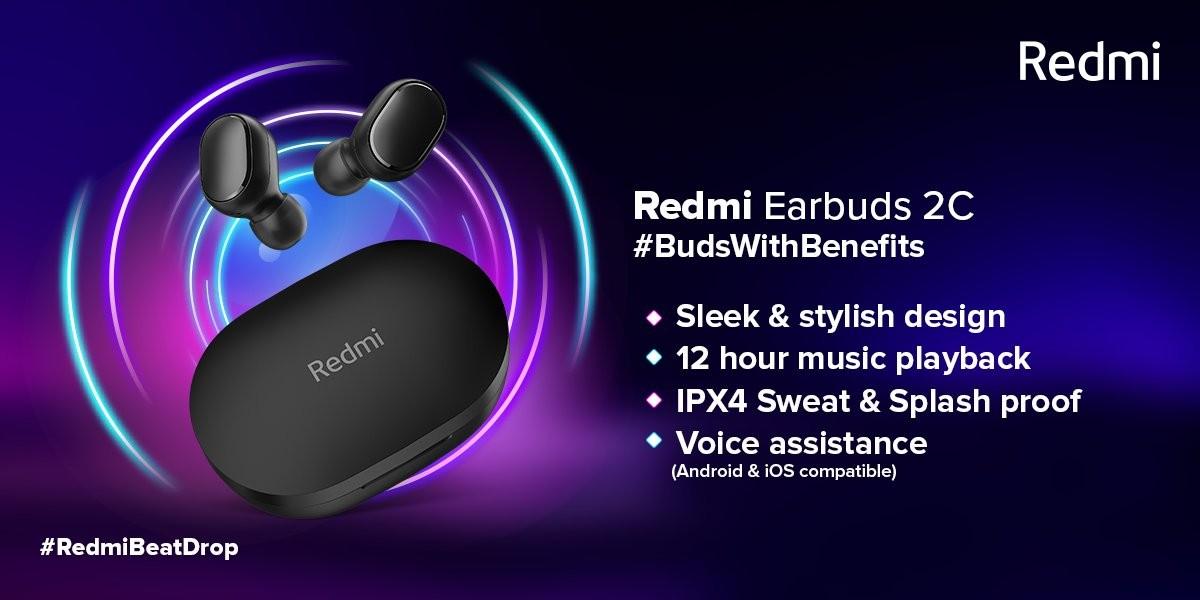 مواصفات Redmi EarBuds 2C