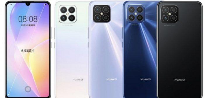 تسريب مواصفات هاتف Huawei nova 8 SE