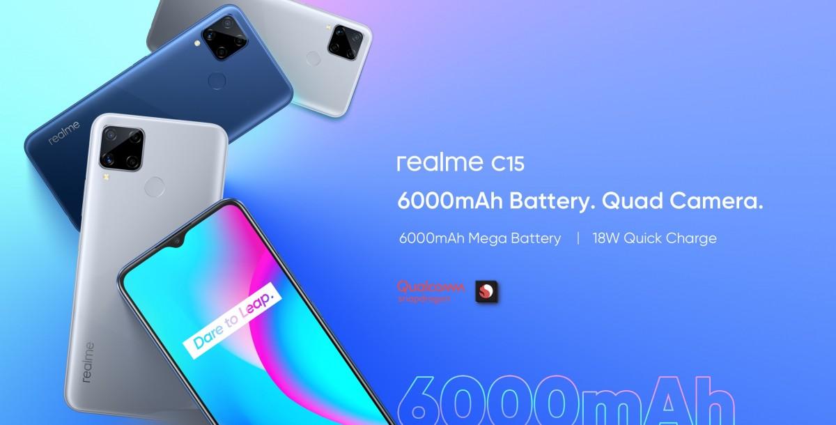 مواصفات Realme C15 Qualcomm Edition