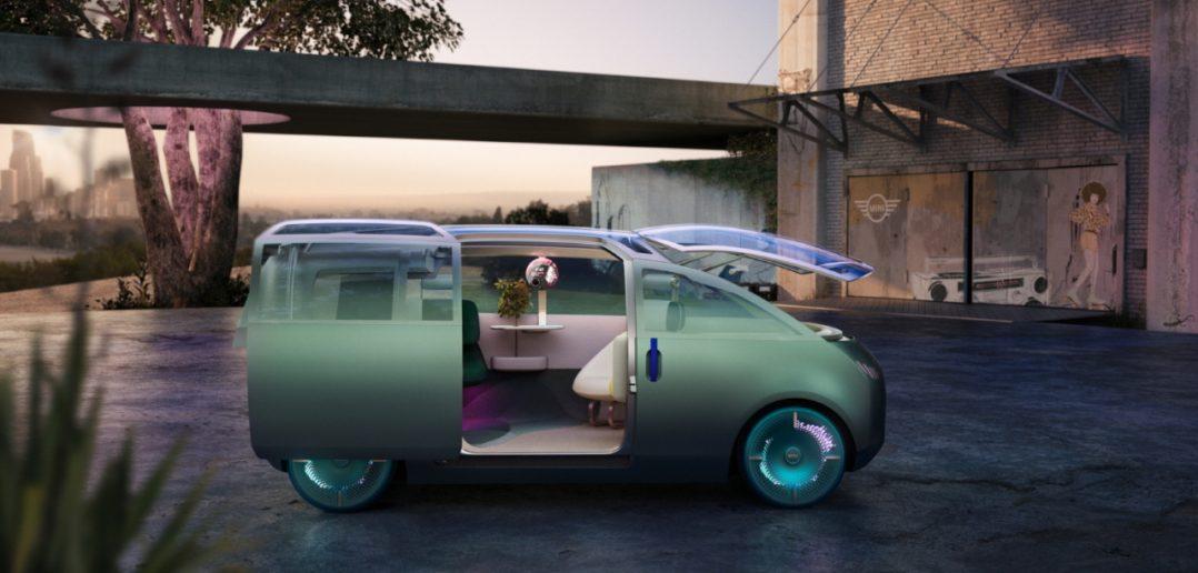 شركة BMW تكشف النقاب عن سيارة كهربائية مصغرة