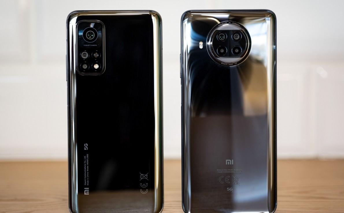 تصميم  هاتف Xiaomi Mi 10T Lite 5G