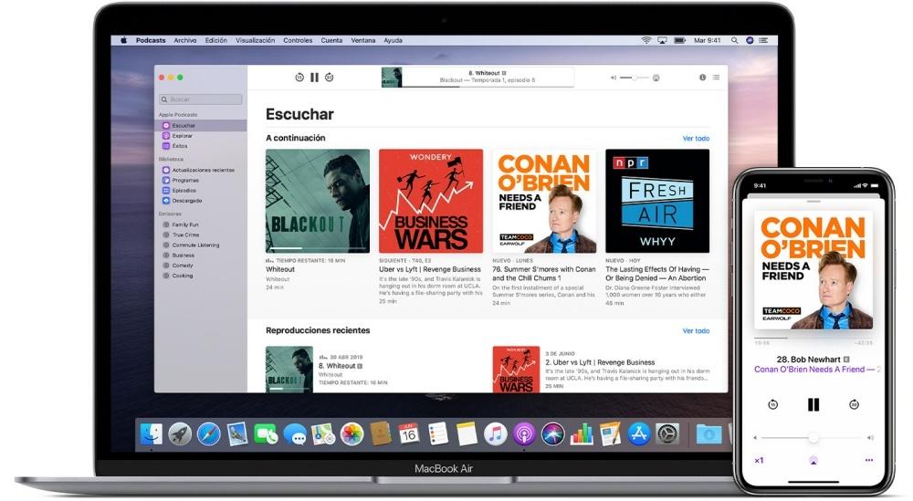 لا يمكن أن تفوت Apple Podcast