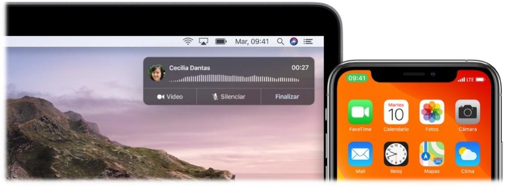 إجراء مكالمات من جهاز Mac