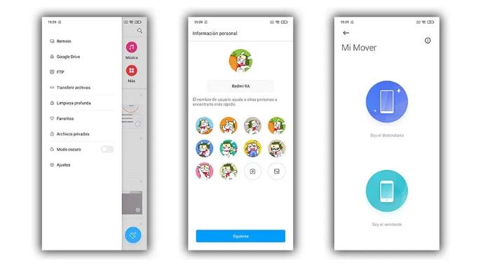 نقل الصور والملفات إلى هاتف Xiaomi