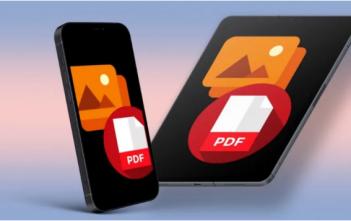 كيفية تحويل الصور إلى PDF على iPhone و iPad