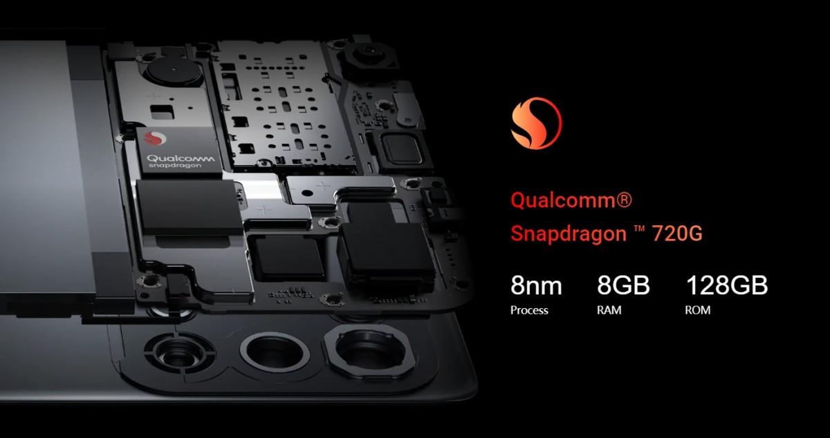 تم الإعلان عن Oppo Reno 5 4G مع مجموعة شرائح S720G 1