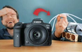 حل شامل لمشاكل درجة الحرارة في Canon EOS R5