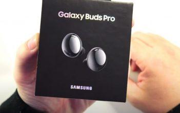 يظهر Samsung Galaxy Buds Pro في فيديو عملي